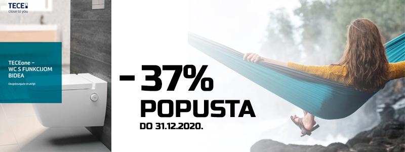 Sad je prilika – TECEone WC s funkcijom bidea na 37% popusta!