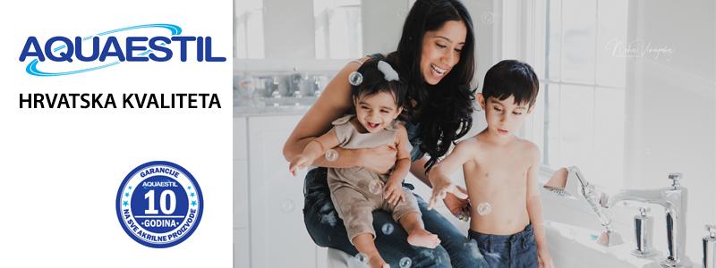 Aquaestil kupaonica iz snova – domaće, kvalitetno, povoljno